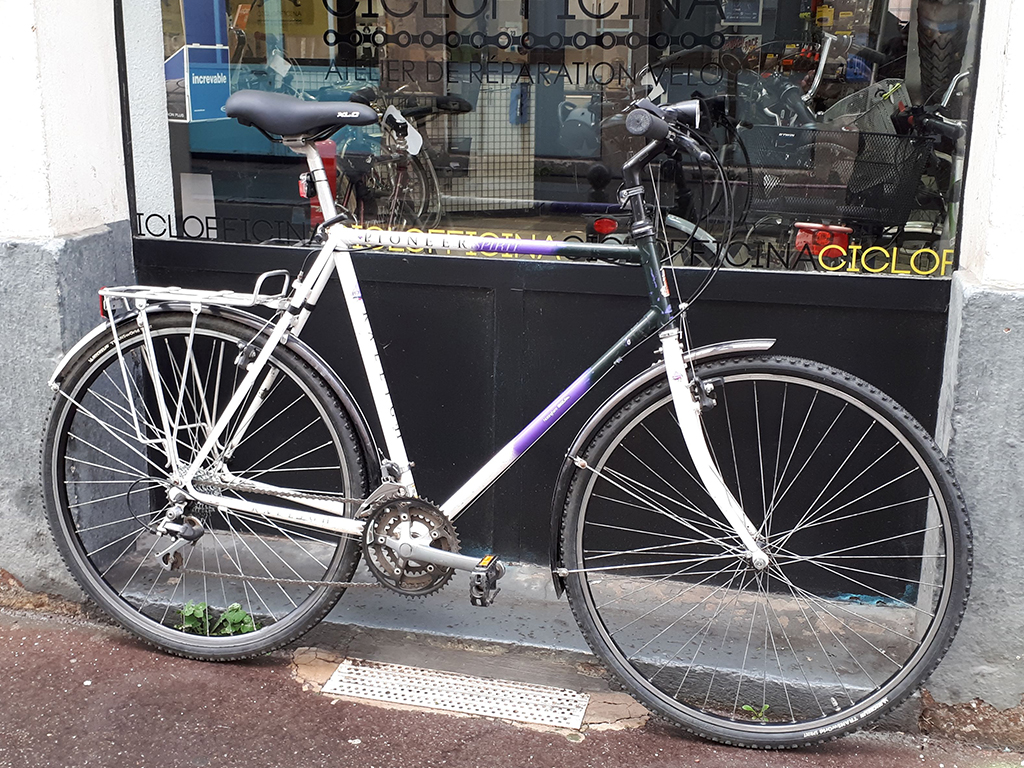 VTC homme grand taille RALEIGH Pioneer Spirit